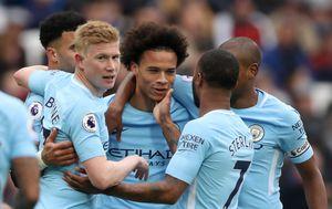 Slavlje igrača Manchester Cityja (Foto: John Walton/Press Association/PIXSELL)