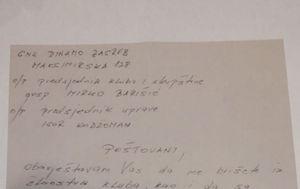 Pismo Zdravka Mamića