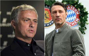 Jose Mourinho i Niko Kovač (Foto: AFP)