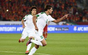 Mohanad Ali slavi gol (Foto: AFP)