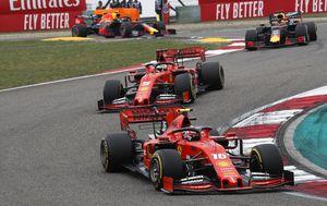 Leclerc je do prvog zavoja pretekao Vettela (Foto: HOCH ZWEI/DPA/PIXSELL)