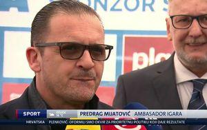 Predrag Mijatović u Zagrebu