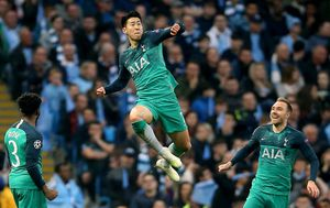 Heung-Min Son (Foto: Nigel French/Press Association/PIXSELL)