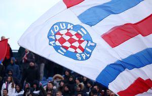 Navijači Hajduka (Foto: Igor Šoban/PIXSELL)