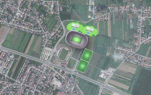 Mogući stadion u Velikoj Gorici (GOL.hr)