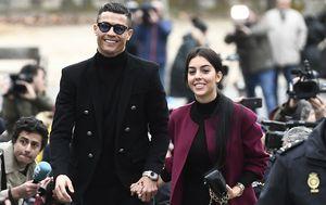 Cristiano Ronaldo i Georgina Rodriguez (Foto: AFP)