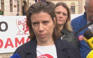 Radnica Uljanika Karin Grgurević (Foto: Dnevnik.hr)