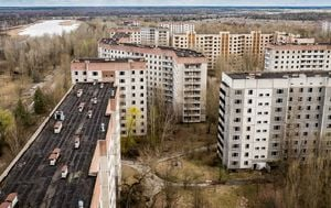Černobil, Pripjat - 2
