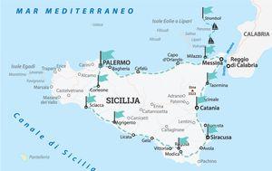 Ruta kojom su Vedran i ekipa 'okružili' Siciliju