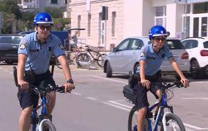 Vodički policajci na biciklima (Dnevnik.hr)
