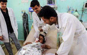 Napad na školski autobus u Jemenu (Foto: AFP)