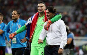 Danijel Subašić i Zlatko Dalić (Foto: Igor Kralj/PIXSELL)