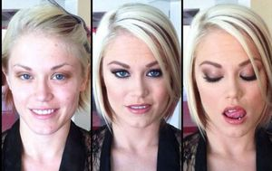 Prije i nakon šminkanja (Foto: izismile.com)