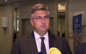 Premijer Andrej Plenković o iskazima Martine Dalić (Foto: Dnevnik.hr) - 2