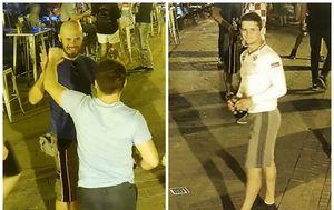 Dva nepoznata muškarca koja traži policija (Foto: MUP)