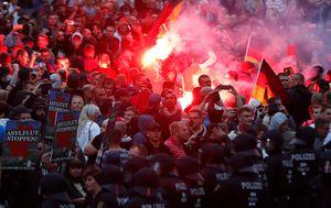 Prosvjedi u Njemačkoj (Foto: AFP)