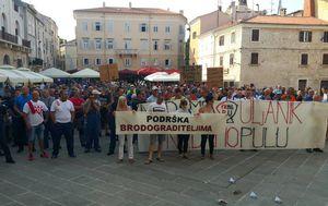 Štrajk radnika Uljanika - 4 (Foto: Dnevnik.hr)