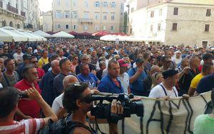 Radnici Uljanika i danas na ulicama (Foto: dnevnik.hr)