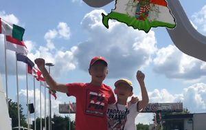 Sporna zastava na službenom Instagram profilu F1 (Foto: Čitatelj GOL.hr-a)