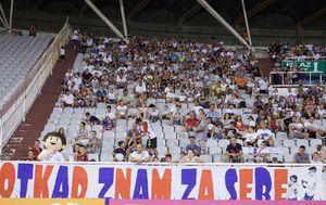 Navijači Hajduka s dječje tribine Poljuda (Foto: Naš Hajduk)