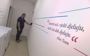 Ulazak u laboratorij (Foto: Dnevnik.hr)
