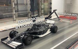 Bolid Formule 1 za 2021. godinu (Screenshot: formula1.com)