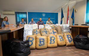 Rekordna zapljena marihuane u Dubrovniku (Foto: Grgo Jelavić/Pixsell) - 2