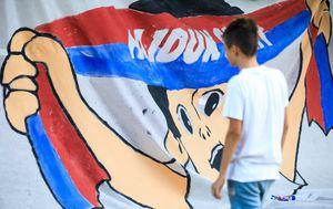 Druženje navijača Hajduka na Zvončacu (Foto: Milan Šabić/PIXSELL)