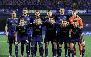 Dinamova momčad (Foto: Sanjin Strukic/PIXSELL)