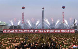Slavlje u Sjevernoj Koreji (Foto: AFP)