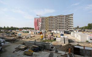 Radovi na izgradnji novog stambenog naselja Podbrežje (Foto: Borna Filic/PIXSELL)