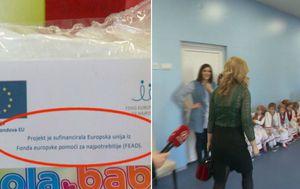 Darovi za napotrebitije u privatnom vrtiću (Foto: Dnevnik.hr) - 4