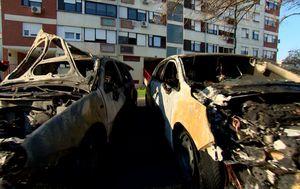 Zapaljen automobil Dinamova direktora (Foto: Dnevnik.hr)