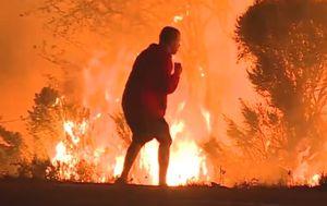 U okrugu Ventura najmanje 50 tisuća ljudi je dobilo uputu da napusti domove (FOTO: Screenshot)
