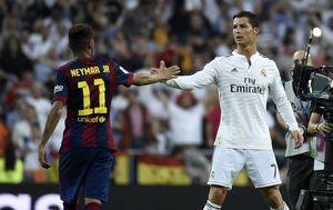 Neymar i Cristiano Ronaldo (Foto: AFP)
