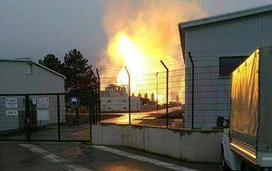 Eksplozija na plinskom terminalu u Austriji (Foto: AFP)