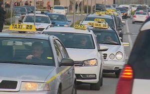Tržište taksi prijevoza mogle bi pogoditi drastične promjene (Foto: Dnevnikl.hr)
