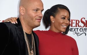 Stephen Belafonte i Mel B (Foto: Getty)