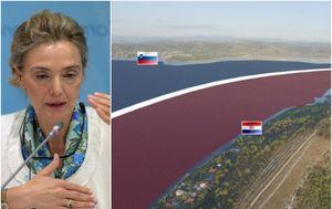Ministrica vanjskih poslova Marija Pejčinović Burić o graničnom sporu sa Slovenijom (Foto: AFP/Dnevnik.hr)