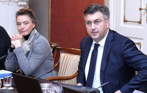Andrej Plenković na sjednici Vlade (Foto: Pixell)
