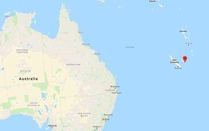 Potres je zabilježen kod Nove Kaledonije (Foto: screenshot/Google Maps)