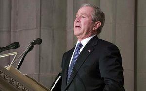 George W. Bush održao dirljiv govor o svojem ocu (Foto: AFP) - 10
