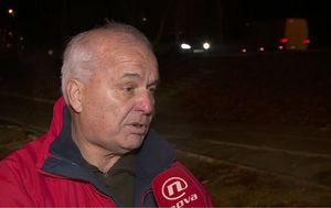 Marina Bešić Đukarić razgovara s Danijelom Rehakom iz Hrvatskog društva logoraša (Foto: Dnevnik.hr) - 1