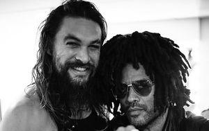 Jason Momoa i Lenny Kravitz (Foto: Instagram)