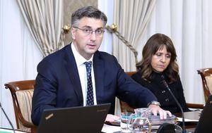 Andrej Plenković na sjednici Vlade (Foto: Patrik Macek/PIXSELL)
