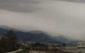 Snijeg u Dalmaciji (Foto: Dalmacija danas)