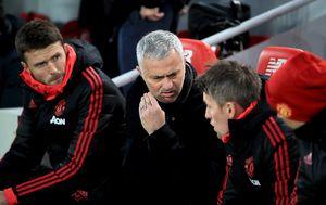 Mourinho i pomoćnici (Foto: Peter Byrne/Press Association/PIXSELL)