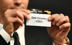 Dinamo u ždrijebu Europske lige (Foto: AFP)