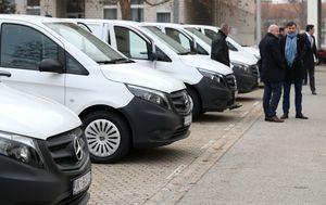Nova vozila MUP-a za forenzičke izvide (Foto: Igor Kralj/Pixsell)
