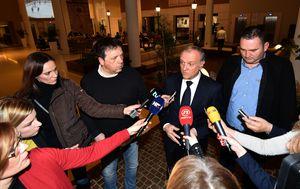 Ministar Dražen Bošnjaković nakon sastanka s istarskim ribarima (Foto: Dusko Marusic/PIXSELL)